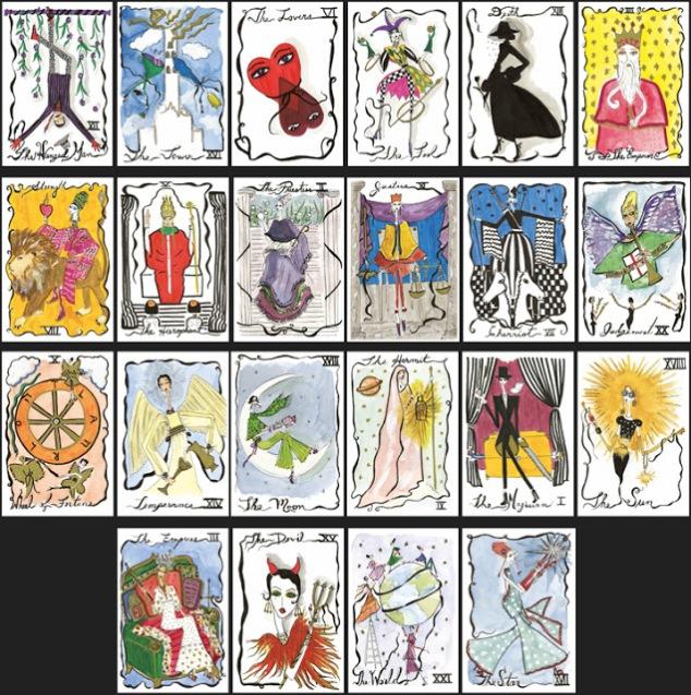 how to cut tarot cards