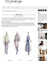 Fashion Illustration by Pia H @Mimi Berlin for HKU graduate sabatark. september 2014 http://stijlmeisje.com/nomads-of-the-world/