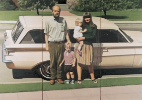 Robert Bechtle, '61 Pontiac, 1968–69. Oil on canvas, 59 3/4 × 84 1/4 in. (151.8 × 214 cm). Whitney Museum of American Art, New York; purchase with funds from the Richard and Dorothy Rodgers Fund 70.16 © 1969 Robert Bechtle