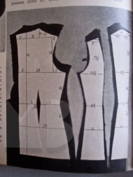 1930s crisis sewing pattern