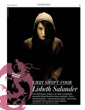 Personalityshopping Lisbeth Salander