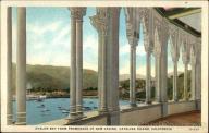 Avalon Bay from Promenade of New Casino Santa Catalina Island, CA