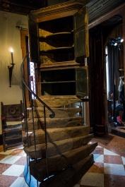James Plumb, 'Cupboard Steps' assemblage