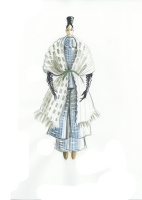 Illustrations by Mimi Berlin for Saba Tark