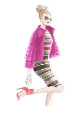 Fashion Illustration by Linda Reinders