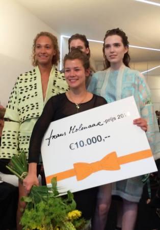 Winner of The Frans Molenaar Couture Award