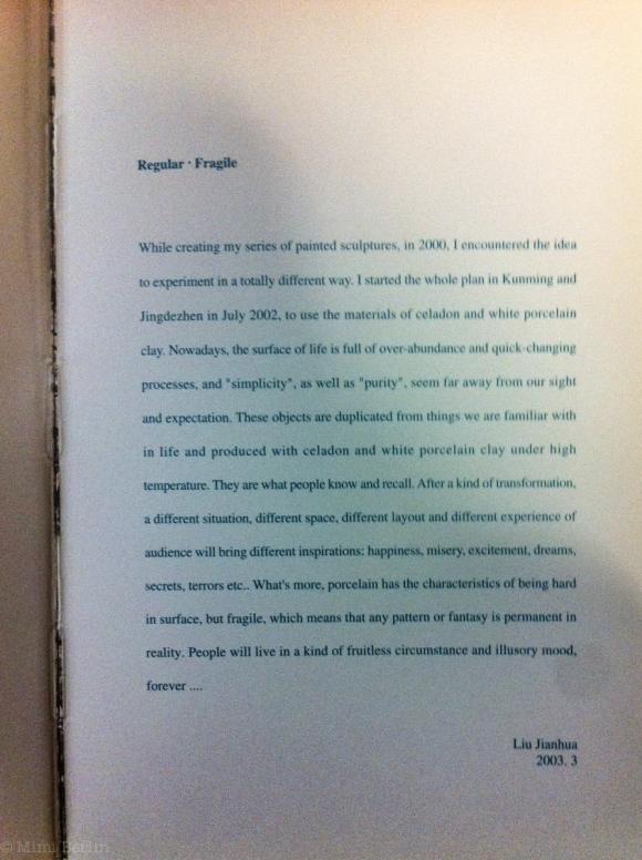 Regular Fragile by Liu Jiahua