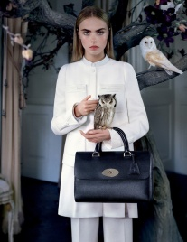 Mulberry's Del Rey bag in their autumn/winter 2013 campaign Photo: Tim Walker/Mulberry