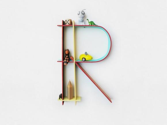 Alphabet Frames by CHIAOZZA