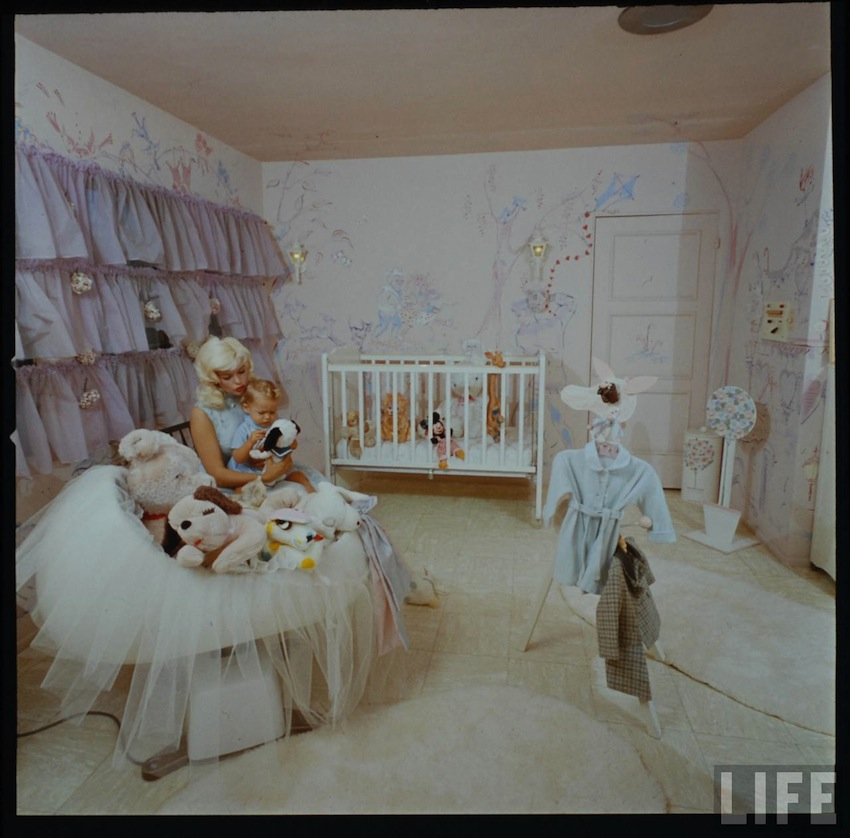 bedtimes with jayne mansfield and babies mimi berlin. Black Bedroom Furniture Sets. Home Design Ideas