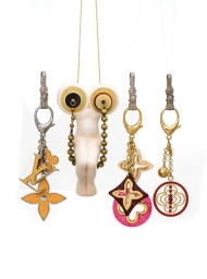 Titty Trapeze presents keychains by Louis Vuitton.photography by JW Kaldenbach for Harper's Bazaar NL, issue #3