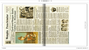 A page from the book art 40 Front Pages by Peter jansen ©2014