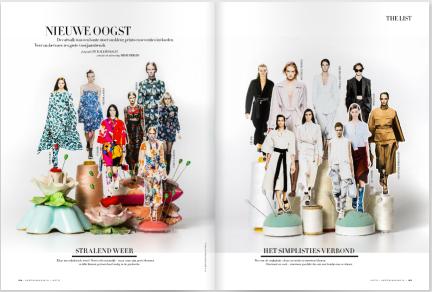 Trends spring 2015 in Harper's Bazaar March 2015