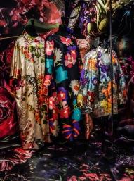 Inspiration Summer Flower; Balenciaga/Patrick de Barentzen/Yves Saint Laurent W1980/