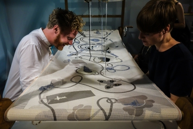 Crossover Collective by Floor Nijdeken/Dutch needlework