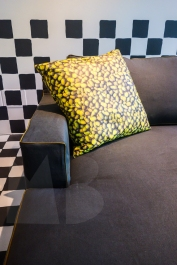 """'Take It Easy"""" collection of sofas and side tables designed by Paola Navone"""