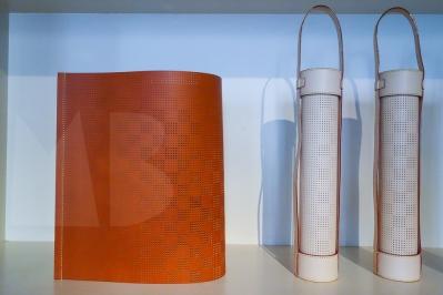 Collection Objets Nomades, Louis Vuitton. Nendo, lamp