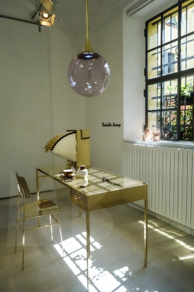 Naked Chair and Naked Desk by Nika Zupanc