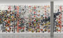 Wall Works by Jacob Hashimoto