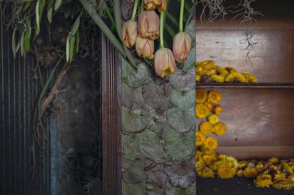 the flower house