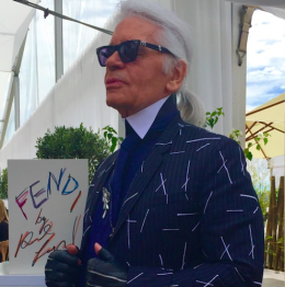 50 Years of Fendi and Karl Lagerfeld