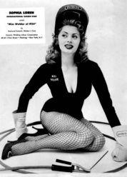 """Sophia Loren """"Miss Welder, 1954"""""""
