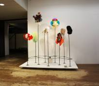 Masquerade time, installation, 2015 at Stroom Gallery The Hague (photo courtesy of DLaH)
