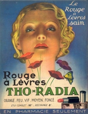 Lipstick advertisement