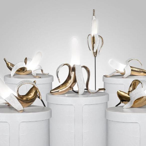 Banana Lamps by Studio Job