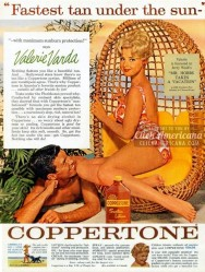 Coppertone Sunscreen Ads