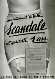 Scandale, Lingerie Ads