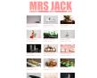 Brand Design by Appdikted @Mimi Berlin for Mrs Jack