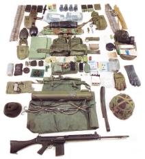 Complete Equipment Fighting Order: 58 Pattern Webbing