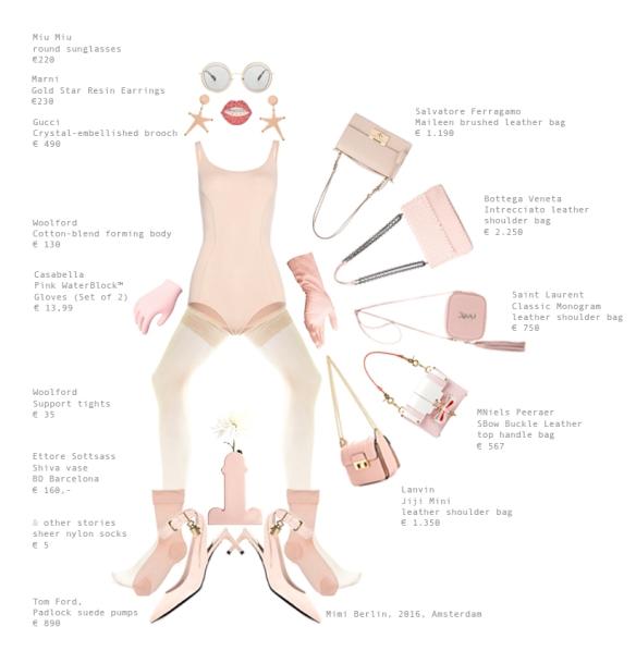 Mimi Berlin's Pink Fashion Shopping
