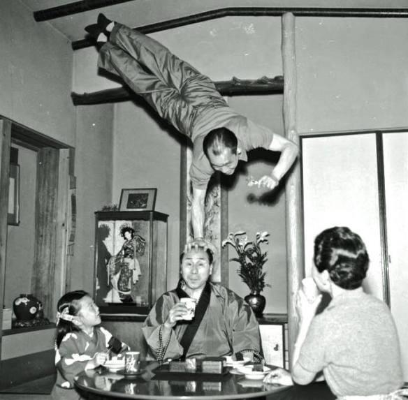 Acrobats at Breakfast