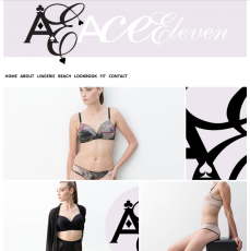 website and graphic design for Ace Eleven, by Appdikted @ Mimi Berlin (screenshot)
