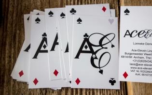 Appdikted for Ace Eleven Lingerie businesscard