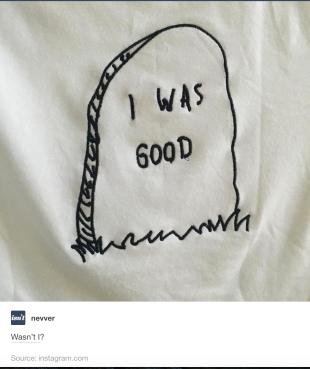 I Was Good