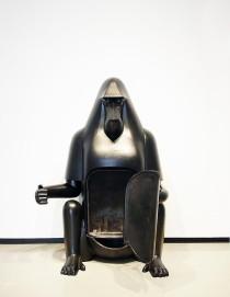 1973, Baboon fireplace, François-Xavier's Lalanne, Paul Kasmin Gallery