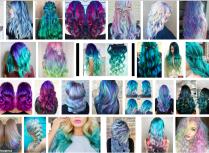 Mermaid Hair is Blue