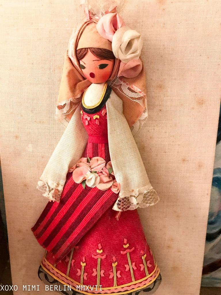 Souvenir Doll With a Nasty Face