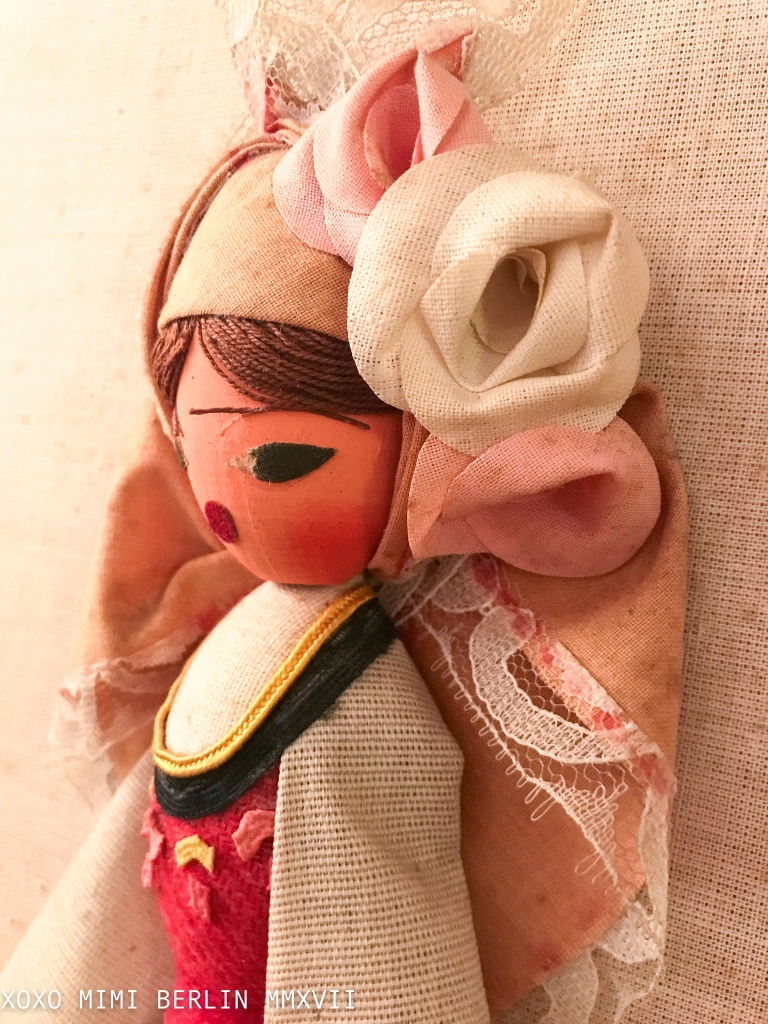 Souvenir Doll With a Nasty Face